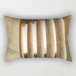 Around the Rotunda Rectangular Pillow