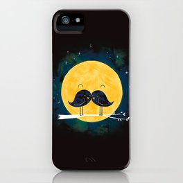 Moonstache iPhone Case