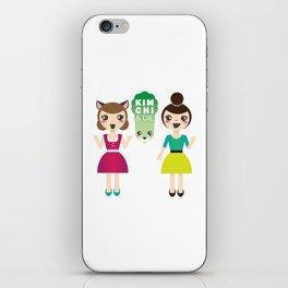 Alexandra et Kim! iPhone Skin
