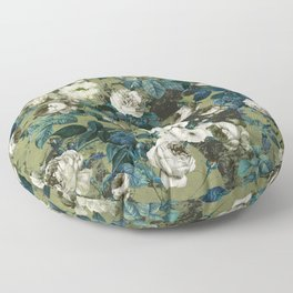 Midnight Garden Floor Pillow