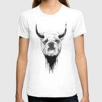 bulldog T-shirts featuring Bulldog by Balazs Solti