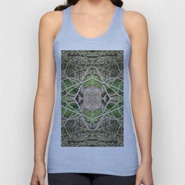 507 - Abstract Forest Design Unisex Tank Top