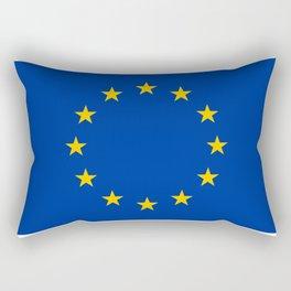 European Flag Rectangular Pillow