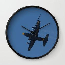 Fat Albert Prop Vortices Wall Clock