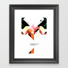 Abstrakt. Framed Art Print