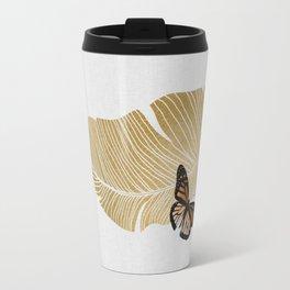 Butterfly & Palm Travel Mug