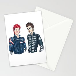 My Chemical Pilots Stationery Cards
