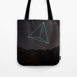 TRIANGULAR SPACE AND SHAPE Tote Bag