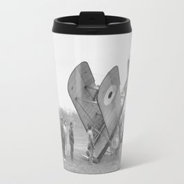 Plane crash. Travel Mug