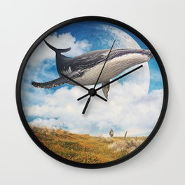Field Of The Giant Wall Clock