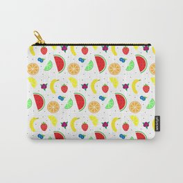 Simple Fruits Pattern Carry-All Pouch