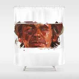 Charles Bronson a.k.a. Harmonica Shower Curtain