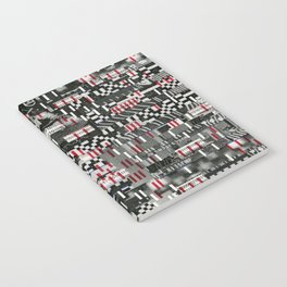 Comfortable Ambiguity (P/D3 Glitch Collage Studies) Notebook