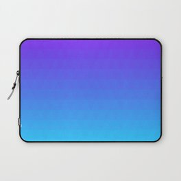 Blue and Purple Ombre - Flipped Laptop Sleeve