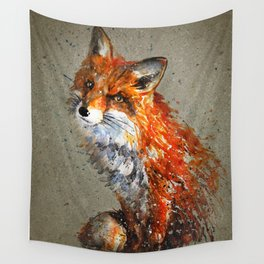 Fox background Wall Tapestry