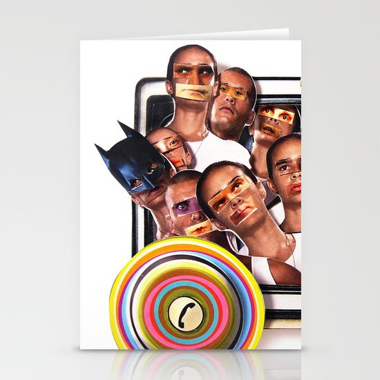 Cannon fodder | Collage Stationery Cards