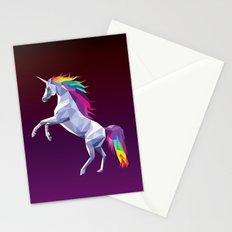 Geometric Unicorn Stationery Cards