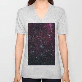 Deep Space Stars  Unisex V-Neck