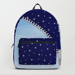 Zipper Day And Night Backpack