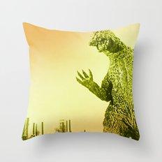 Godzilla 2 Throw Pillow