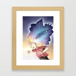 Secrets of the universe Artwork Framed Art Print