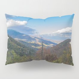 Blue Ridge Peaks Pillow Sham