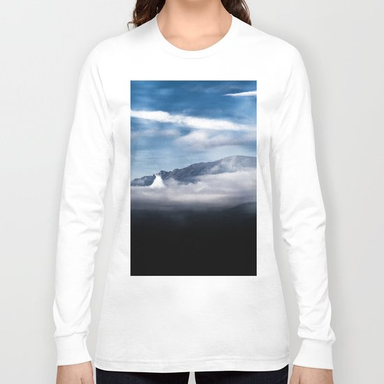 Mountains and fog. Landscape Long Sleeve T-shirt