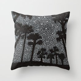 Starry Night in the Everglades Throw Pillow