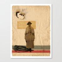 sand Canvas Prints featuring SAND// by Matt McCann