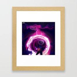 In Breach Framed Art Print