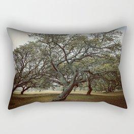 The Haunted Rectangular Pillow