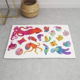 Cephalopod - pastel Rug