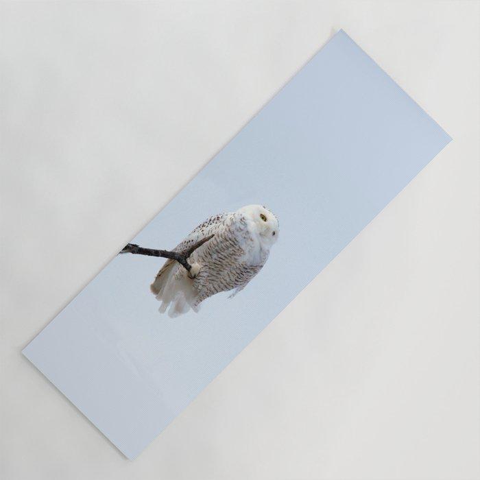 Lofty Vision (Snowy Owl) Yoga Mat