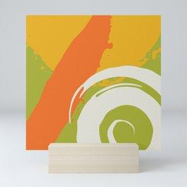 Colorful Brush Strokes AP176-7 Mini Art Print