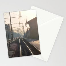 The Blurry Memory Of Leaving Home Stationery Cards