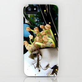 AiVee portrait   Collage iPhone Case