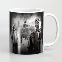 zombies Mugs featuring Zombies by Joe Roberts