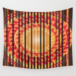 Hidden Sun Wall Tapestry