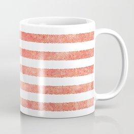 American Flag (stain glass) Coffee Mug