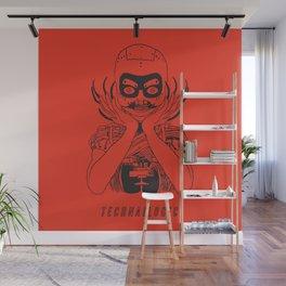 Technailogic Wall Mural
