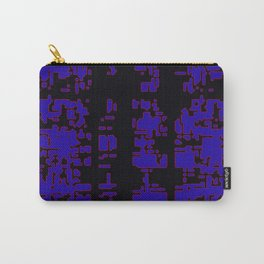 jitter, black blue, 3 Carry-All Pouch