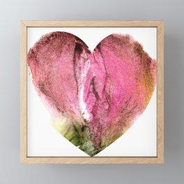 Ceren's Heart Shaped Box Framed Mini Art Print