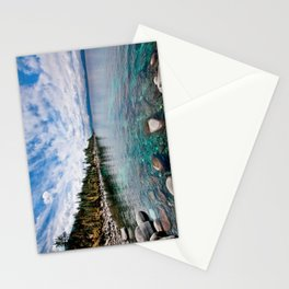 Tranquility Lake Tahoe Stationery Cards