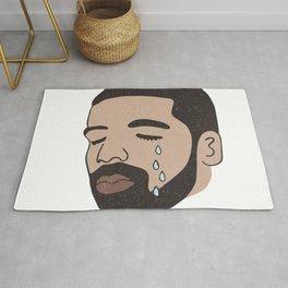 drake crying Rug