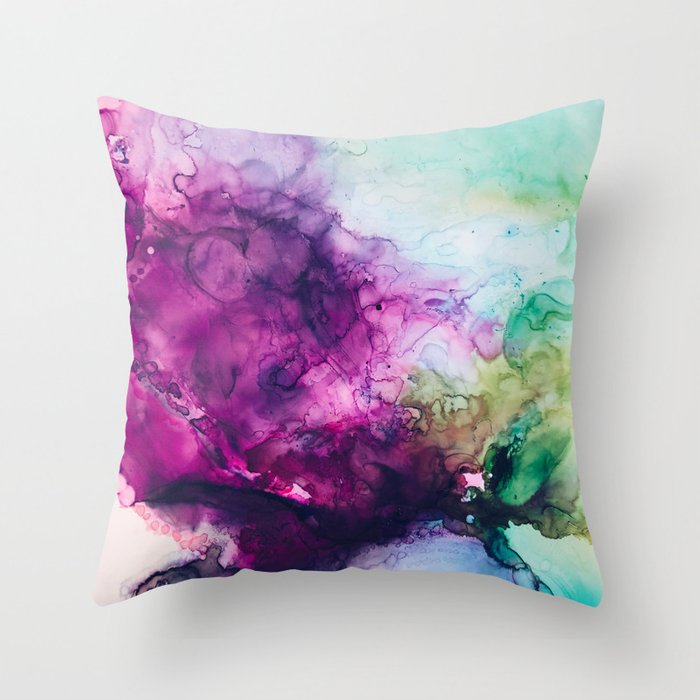 Eggplant Throw Pillow By Annierudisill Society40 New Eggplant Decorative Pillows