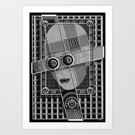 La Fiancee de C3PO Art Print