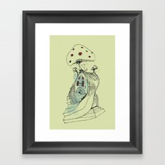 the shroooom Framed Art Print
