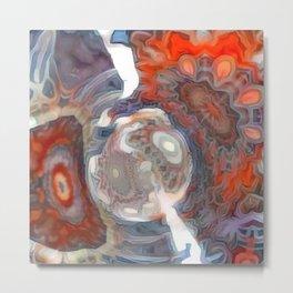 Abstractique 4 Metal Print