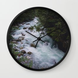 Nooksack River - Pacific Northwest Wall Clock