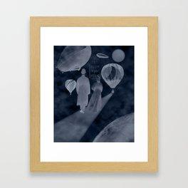 don't stop believin' Framed Art Print